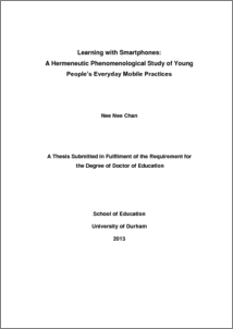 hermeneutic phenomenology thesis Being-responsible in psychotherapeutic supervision: a hermeneutic phenomenological study a thesis presented to dublin city university for the degree of doctor in philosophy (phd.