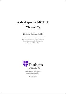 kirsteen butler thesis