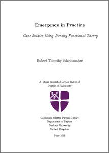 Emergence in Practice: Case Studies Using Density Functional