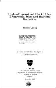 hawking phd thesis. Black Bedroom Furniture Sets. Home Design Ideas