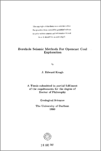 seismic thesis This list is updated periodically with the most recent cwp research reports appearing phd thesis 2016 878 seismic structure-oriented bilateral filtering of.