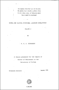 Landform phd thesis